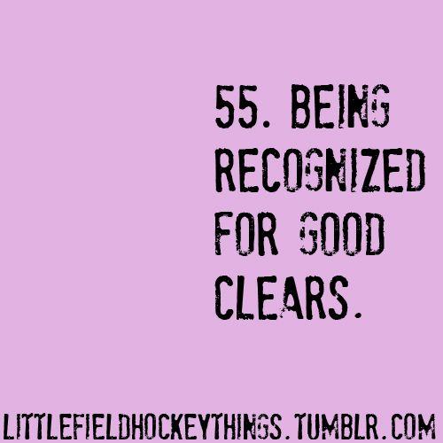 Little Field Hockey Things