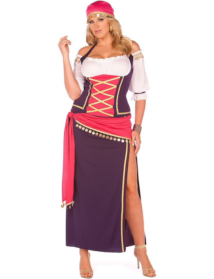 how fun and sexy is this gypsy maiden plus costume sizes 18 - Size 18 Halloween Costumes