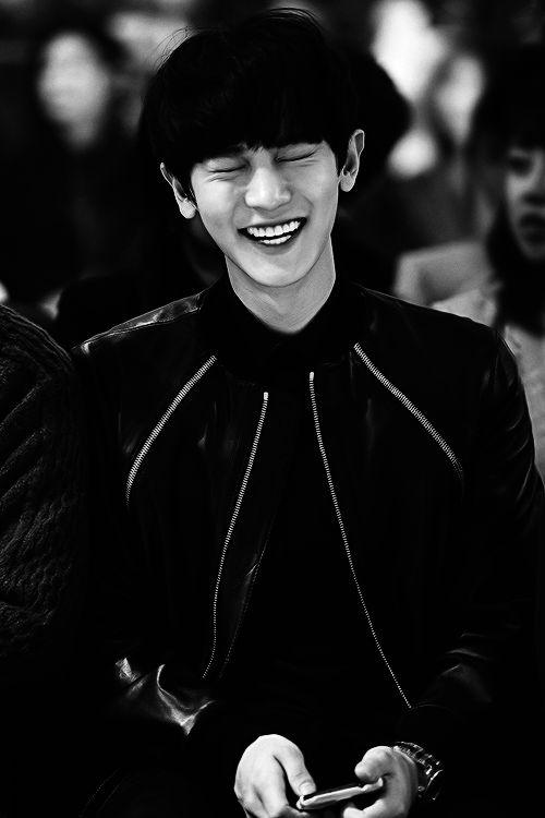 EXO | Chanyeol | Black & White | Big Smile