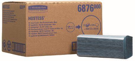 Prosoape de hartie Kimberly-Clark Hostess Tela Fold, ecologice, 1 strat.