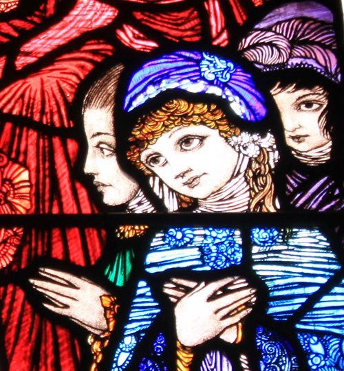 Ireland is noted for its Artists. Here are some of Henry Clarke's famous Stained Glass windows.