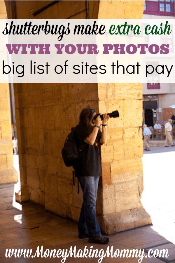 Verkaufen Sie Ihre Fotos online – Geld verdienen Idee