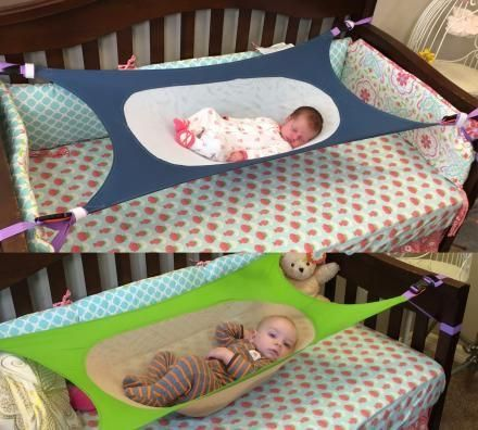This Crescent Infant Safety Bed cradles the baby like they are in the womb Find it here: http://amzn.to/2jHtJM4