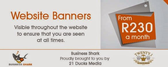 Business Shark: Online Advertising and Business Directory:                21 Ducks Media (Pty) Ltd offers var...