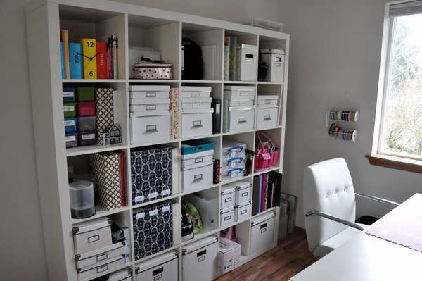 107 best images about craft room decor organizing on for Storage solutions for craft rooms