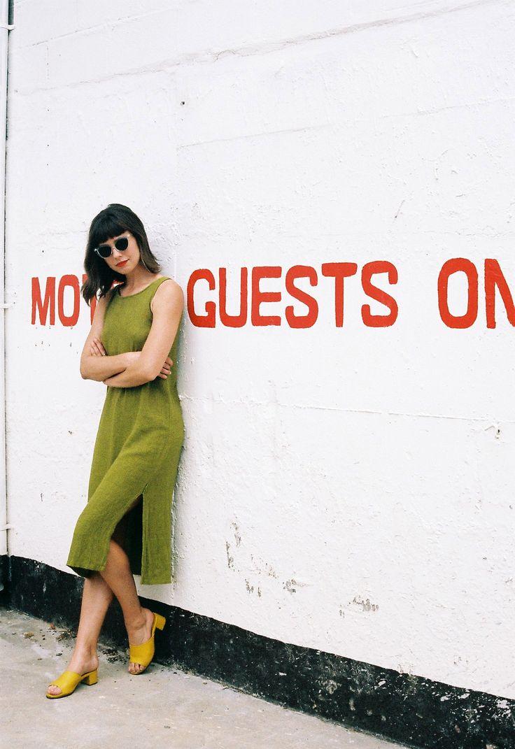 Graceland Collection x Kristen Grace I Vintage Green Linen