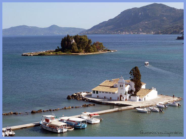 Corfu - Κανόνι - Ποντικονήσι - Κέρκυρα