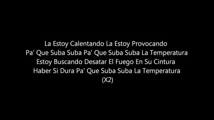 La Temperatura Maluma Ft Eli Palacios Letra (LA TEMPERATURA :D)