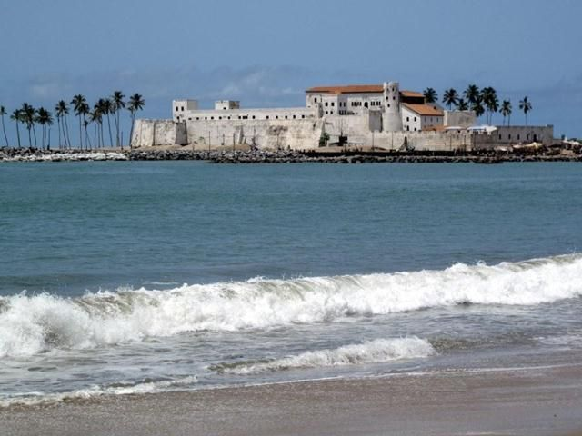 The Elmina Castle, a historic monument in Ghana was constructed by Portuguese traders in 1482. Usually known as St. George of the Mine, the Elmina Castle is recognized by UNESCO as a World Heritage Site. Historically, the Elmina Castle was a famous trade stop of the region.