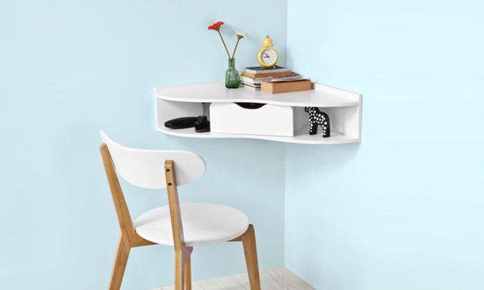 Haotian Wall Mounted Corner Desk Children Table Fwt26 W Make