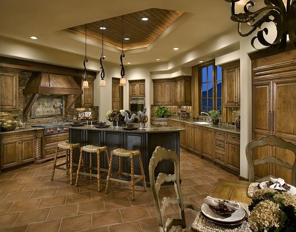 Southwest style kitchen my arizona casa pinterest for Piani artigiano stile ranch casa