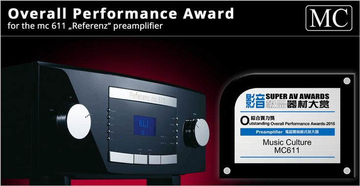 Outstanding Overall Performance Award for mc 611