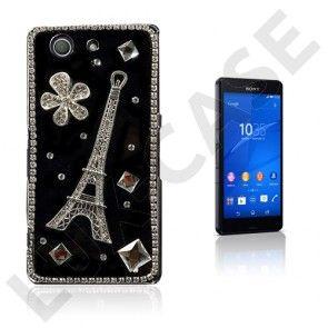 Shine (Eiffel-Torni & Pariisi) Sony Xperia Z3 Compact Suojakuori