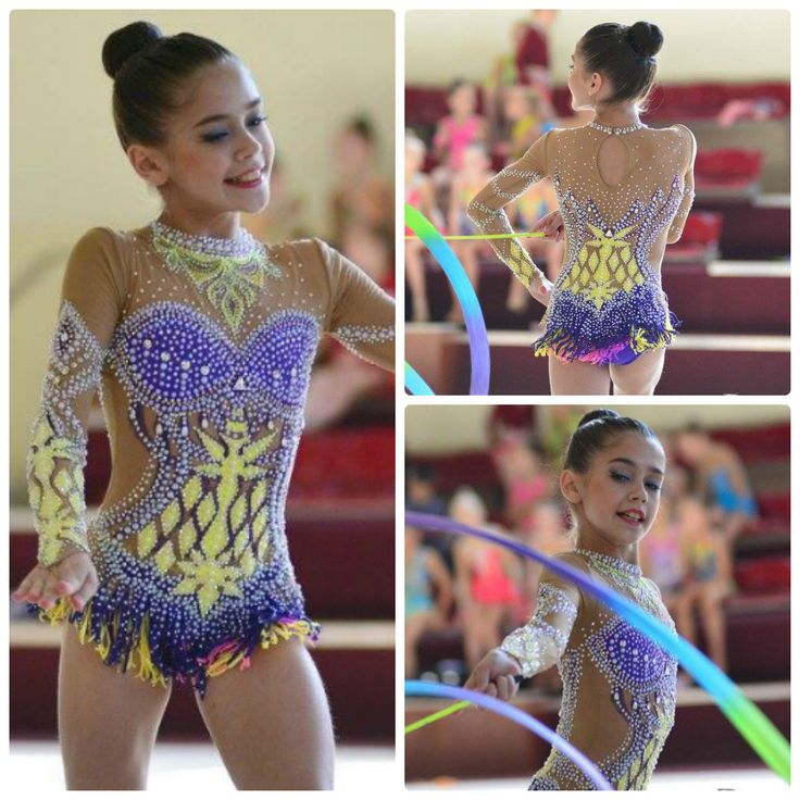 Rhythmic gymnastics leotard (photos by Pawel S.)