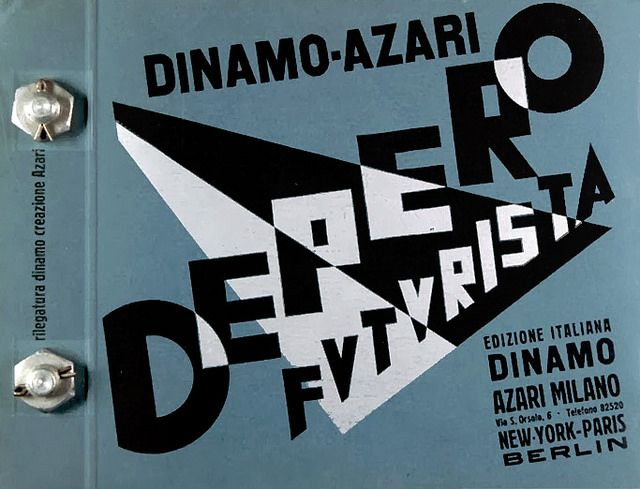 Fortunato Depero - Depero Futurista - 1927 | Flickr - Photo Sharing!