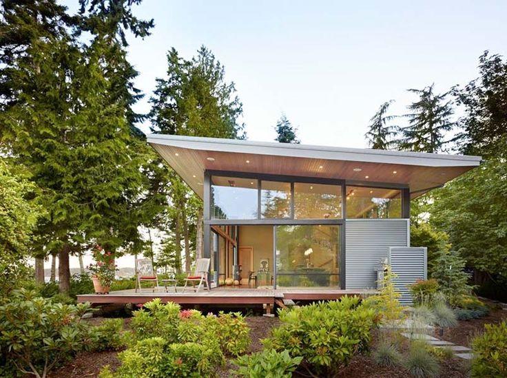 Современный дизайн дома.