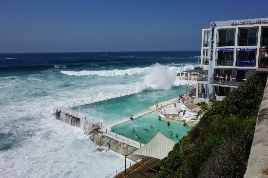 Bondi to Coogee Beach Coastal Walk: Bondi Icebergs #Sydney #Australia