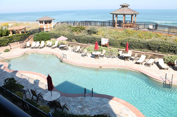 Enjoy ocean views from your private balcony of your OBX rental. This oceanfront condo is one of Croatan Surf Clubs luxury condos. http://www.sunrealtync.com/house/csc-3m#tabs-3