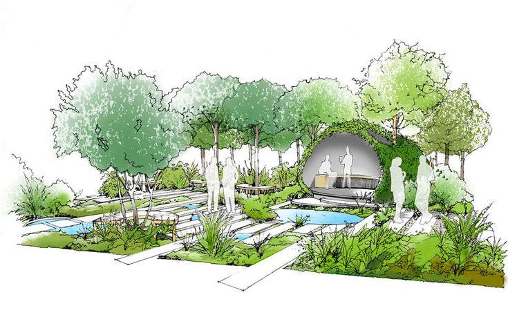Macmillan's 2015 Hampton Court Palace garden