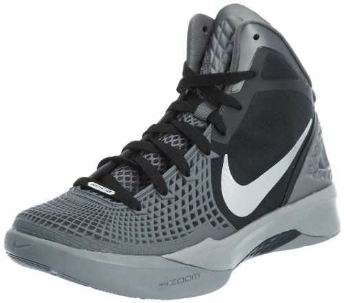 Nike Zoom Hyperdunk 2011 Supreme Black/Silver/Grey Men\u0027s Basketball Shoes  on Sale