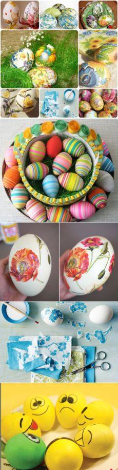 Украшение пасхальных яиц своими руками (с изображениями ...
