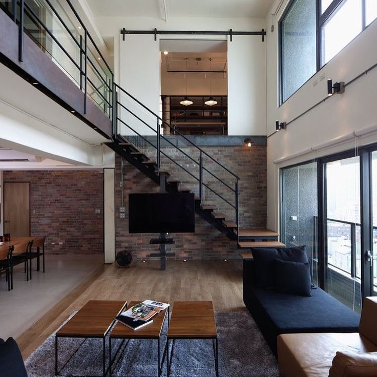 32 Best Exposed Brick Staircase Images On Pinterest