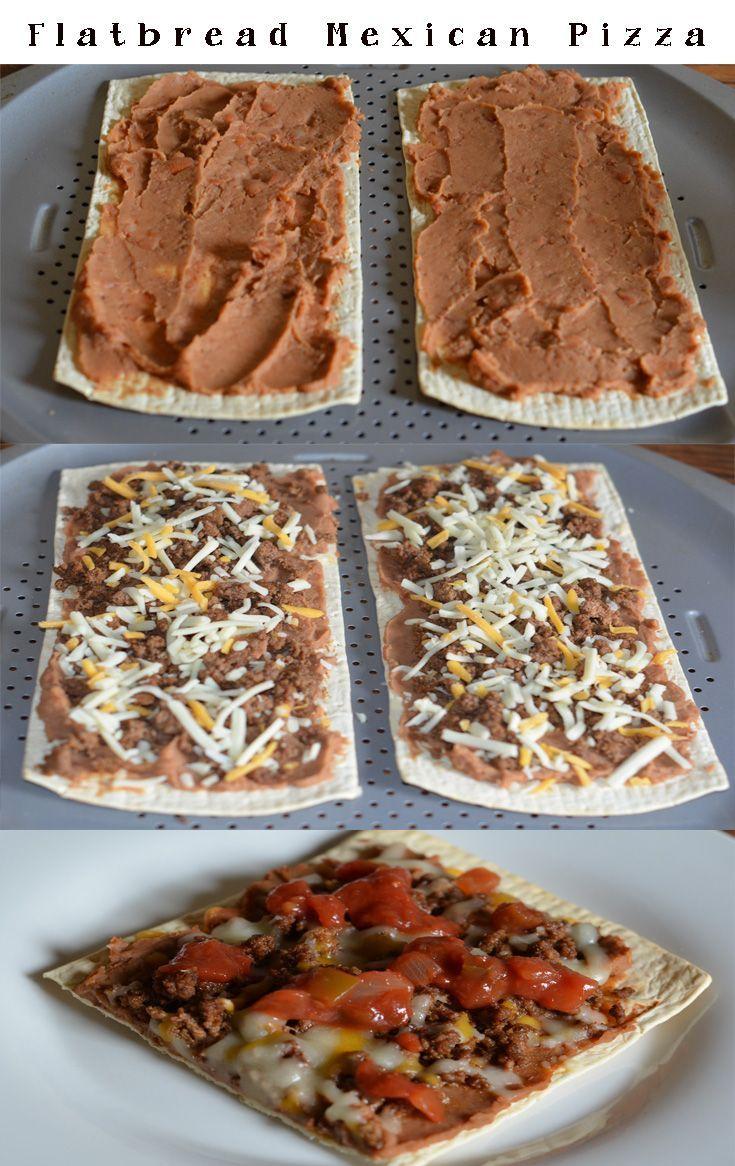 Flatbread Mexican Pizza