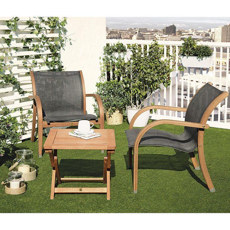 Conjunto de balc n bramley galia la corte balcones y for Conjunto muebles balcon