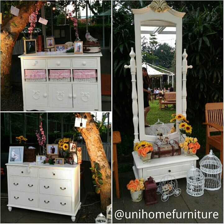 We just love this Wedding Decoration. The theme, the brilliant layout and the fabulous picks. Plus you really can't miss our Furniture in it:)  Thank you for featuring us
