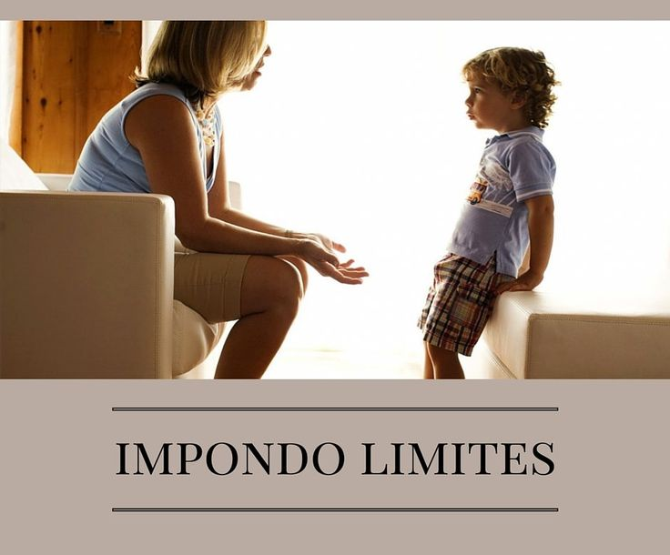 Como impor limites durante a infância