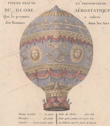 Montgolfier Gas Balloon
