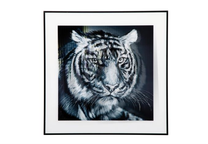 Tiger face picture - Pictures - Living Room Storage | Bookcases | Furniture Village #mycosyhome
