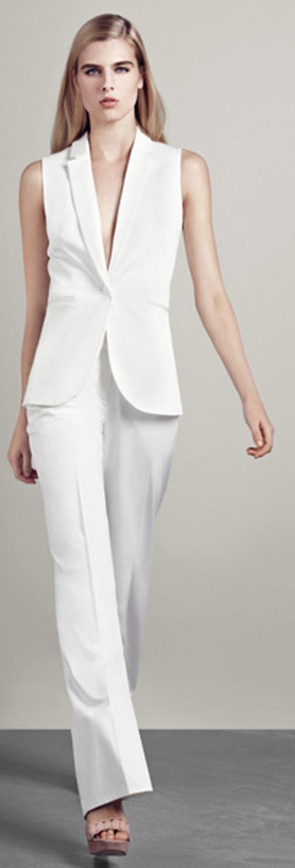 21 New White Pantsuit For Women U2013 Playzoa.com