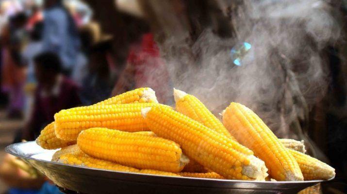 Обожаю вареную кукурузу! Всегда считал, что готовить ее следует в подсоленной воде и подольше, чтобы зерна стали мягкими… Как оказалось, я был очень далек от истины! Чтобы лакомиться сочной, нежной, сладкой и необычайно полезной кукурузой, достаточно при готовке добавить в кастрюлю 2 простых ингред