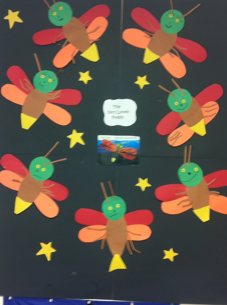 Classroom Theme Ideas Preschool ~ Best images about the very lonely firefly on pinterest