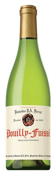 DOMAINE J.A. FERRET Pouilly-Fuissé 2014 - International Wine Report