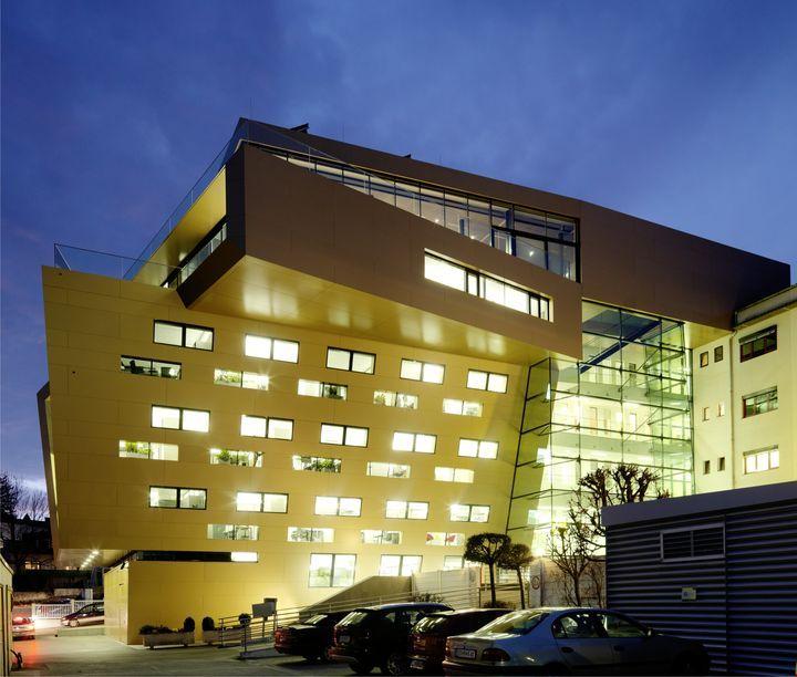 http://www.architecturelover.com/2012/05/raiffeisen-finance-center-by-pichler-traupmann-architekten/