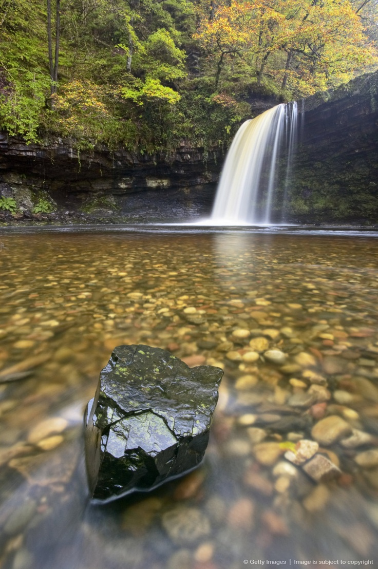 Image detail for -Sgwd Gwladys, an extremely pretty waterfall situated along the Sgwd Gwladys Walk at Pontneddfechan. It is known locally as both 'Angel Falls' and 'Lady...