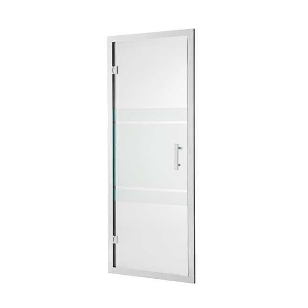 Les 25 meilleures id es de la cat gorie porte de douche - Cabine de douche porte pivotante ...