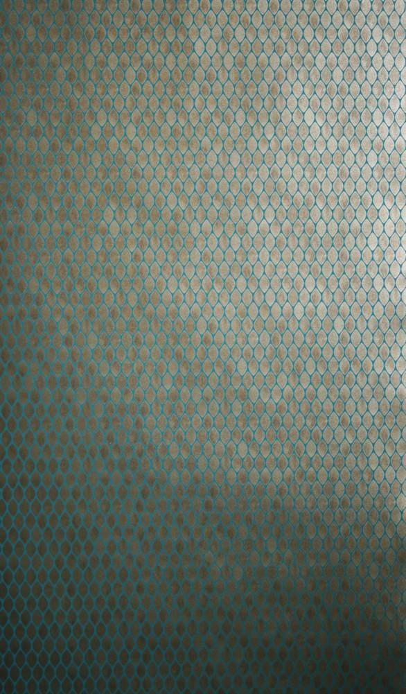 Gilty Wallpaper 06 by Nina Campbell for Osborne & Little
