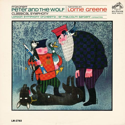 Peter and the Wolf: Lorne Greene (RCA, 1965)