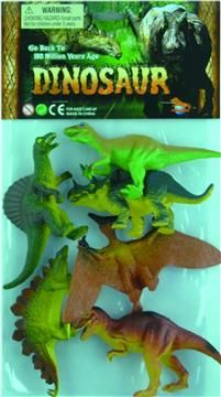 WC Σετ Δεινόσαυροι 6τμχ (2504-P2602/6) | Moustakastoys.gr