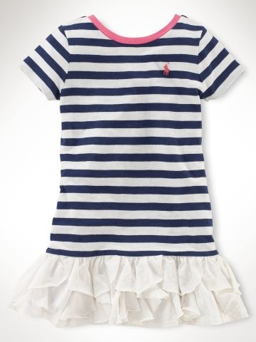 Cascade Ruffled Dress - Girls 2-6X Dresses & Rompers - Sale Price: $29.99