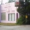 Fleur de Lis' Pink Building. Best pizza. Anywhere
