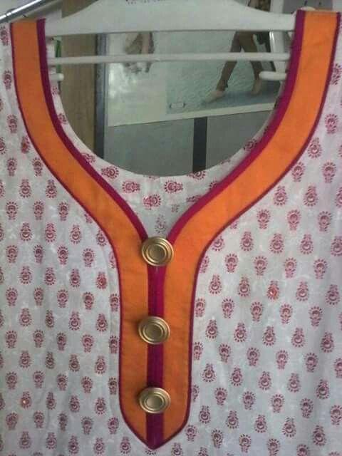 Kurti neckline