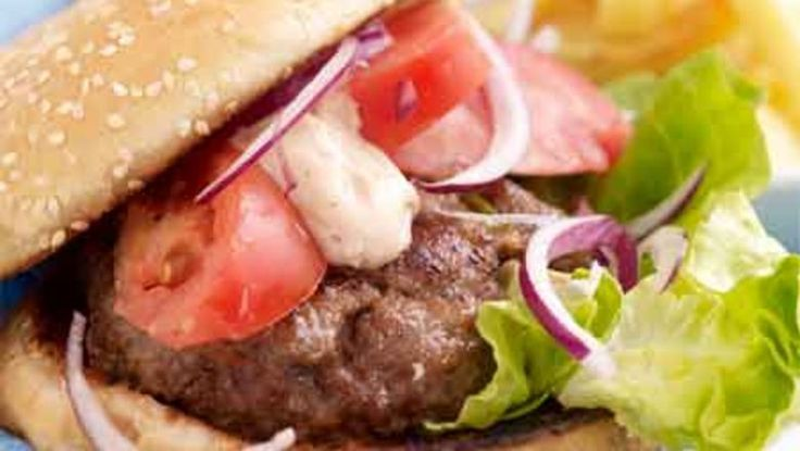 How to bind homemade burgers with sauces