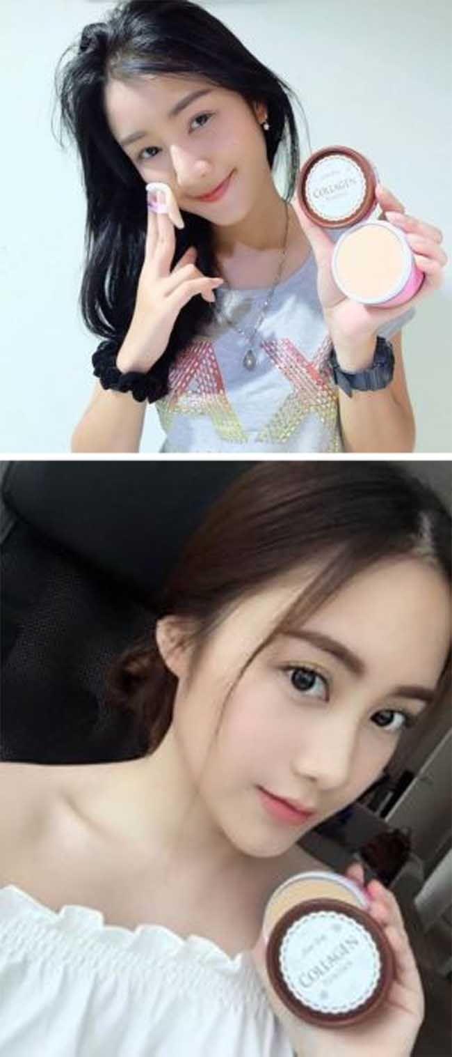 Bedak Kolagen thailand 100% Original by Little Baby