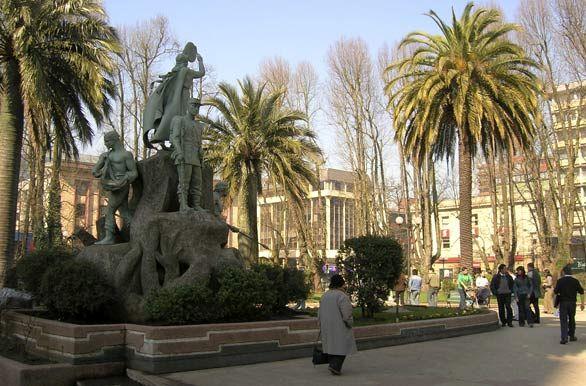 Plaza de Armas - Temuco, Chile