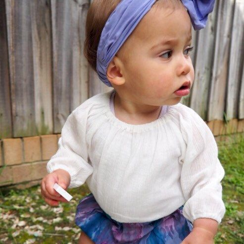 Beautiful girl flaunting our gorgeous Spring bloomers!