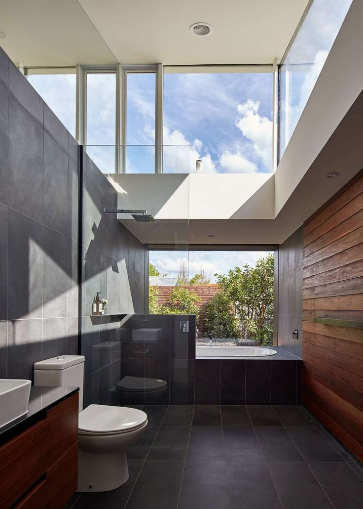 'Tunnel' Links Cottage in Australia to Modern Addition - http://freshome.com/tunnel-cottage-australia/